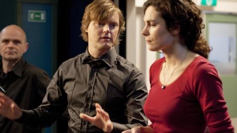 [behind-the-scenes] Rutger de Bekker met Anna Drijver