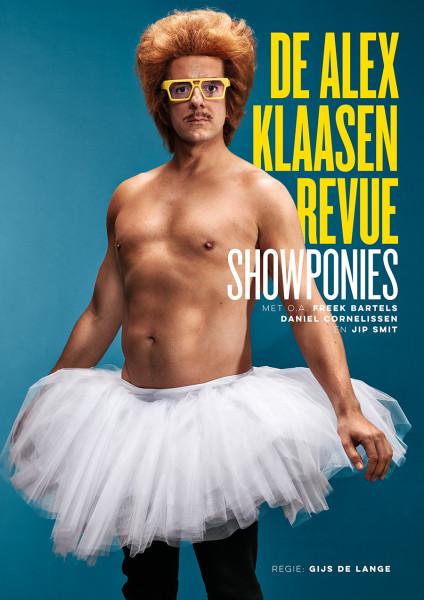 Alex Klaasen - Showponies - affichebeeld (c) Mark Engelen
